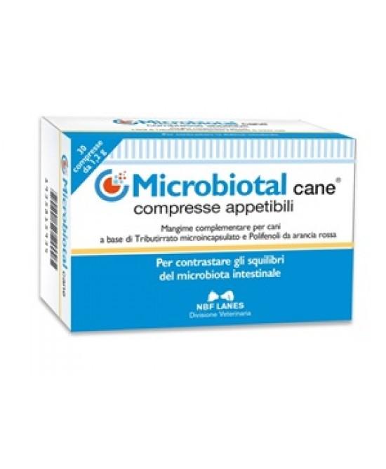Microbiotal Cane Integratore Alimentare Uso Vaterinario 30 Compresse Appetibili - Farmapc.it
