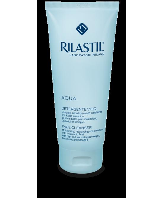 Rilastil Aqua Detergente Viso 200ml - Farmalke.it