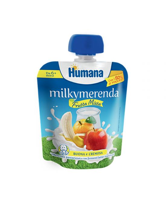 Humana Milkymerenda Alimento Per Neonati da 6+ Mesi Gusto Frutta Mista 85g - Farmaci.me
