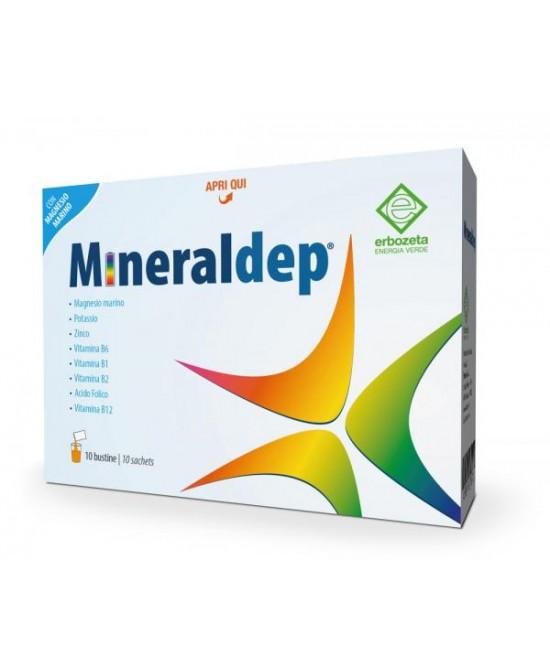 Mineraldep Integratore Alimentare 10 Bustine - farmaventura.it