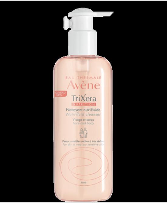 Avène Trixera Nutrition Detergente Nutri-Fluido Viso E Corpo Per Pelle Secca E Sensibile 400ml - Farmafamily.it