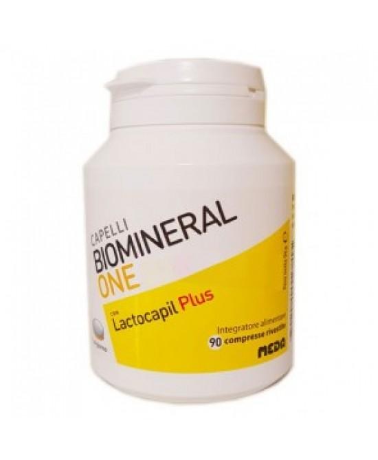 Meda Pharma Biomineral One Lactocapil Plus Integratore Alimentare Capelli 90 Compresse - Farmastar.it