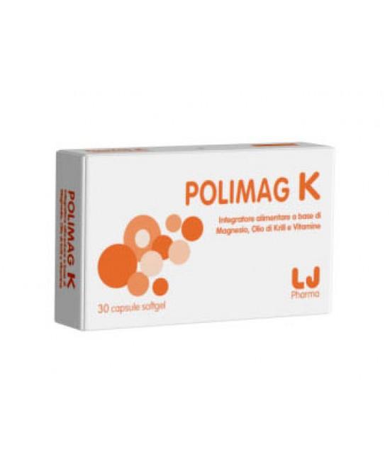 LJ Pharma Polimag K Integratore Alimentare 30 Capsule Softgel - farmaventura.it
