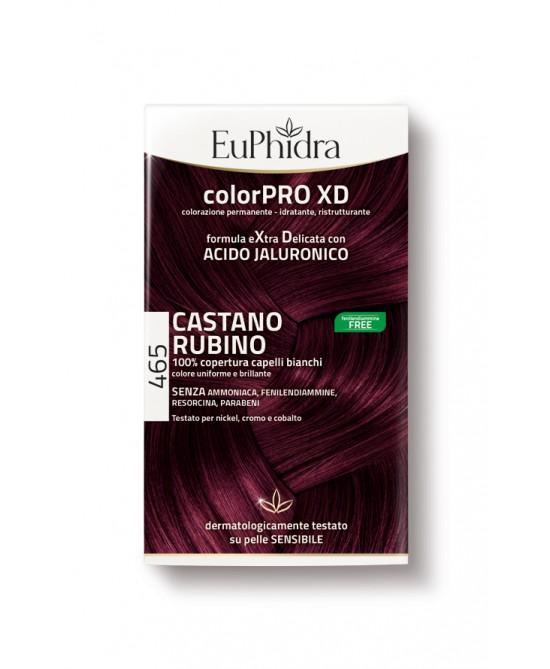 EuPhidra Colorpro XD Tintura Extra Delicata Colore 465 Castano Rubino - latuafarmaciaonline.it