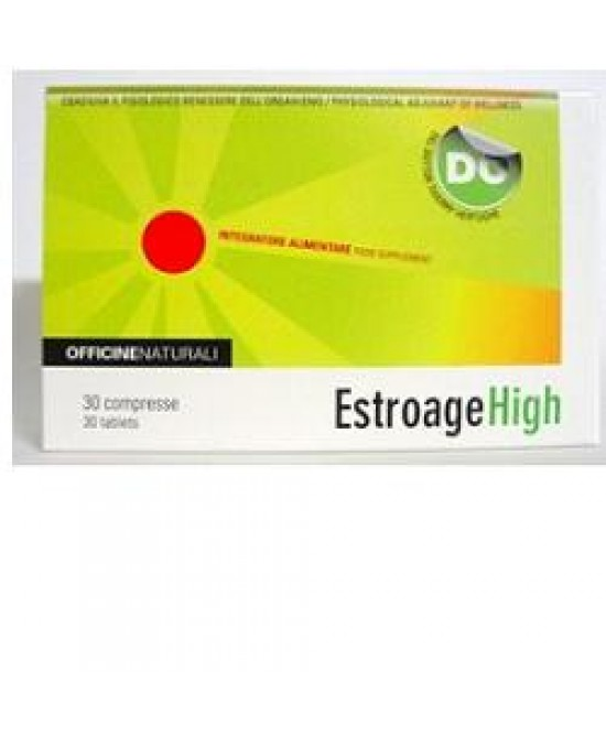 Estroage High 30cpr 850mg - Speedyfarma.it