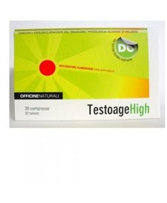 Testoage High Integratore 30 Compresse