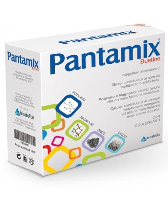 Pantamix Integratore Metabolismo 20 Bustine 8 g