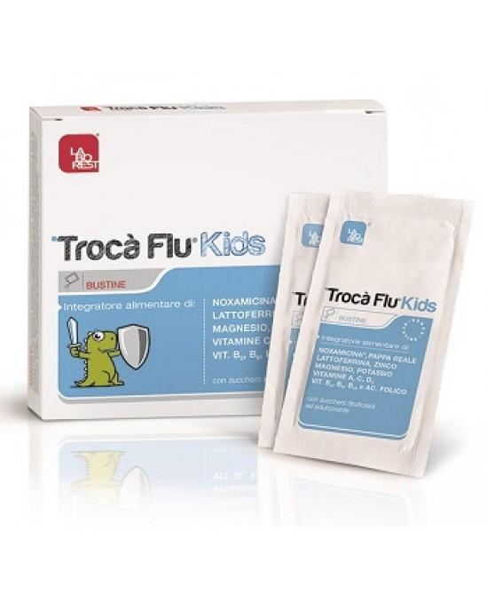 Trocà Flu Kids Integratore Alimentare 10 Bustine - Farmastar.it