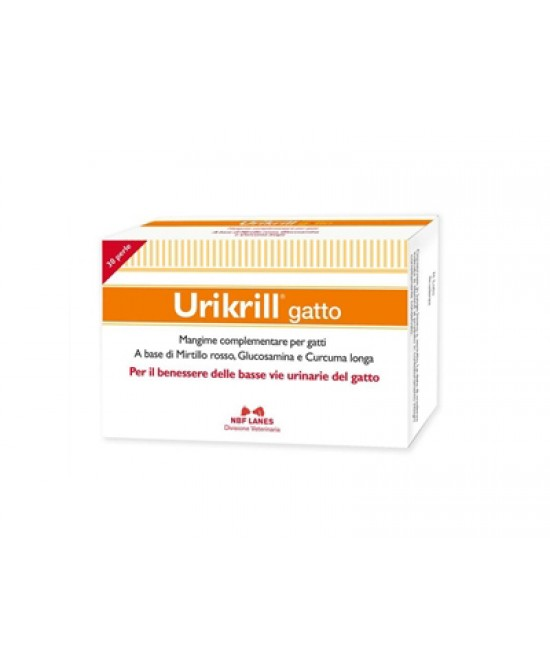 Urikrill Gatto Integratore Veterinario 30 Perle offerta