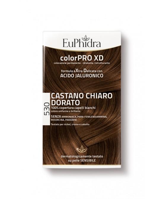 EuPhidra Colorpro XD Tintura Extra Delicata Colore 530 Castano Chiaro Dorato - La farmacia digitale