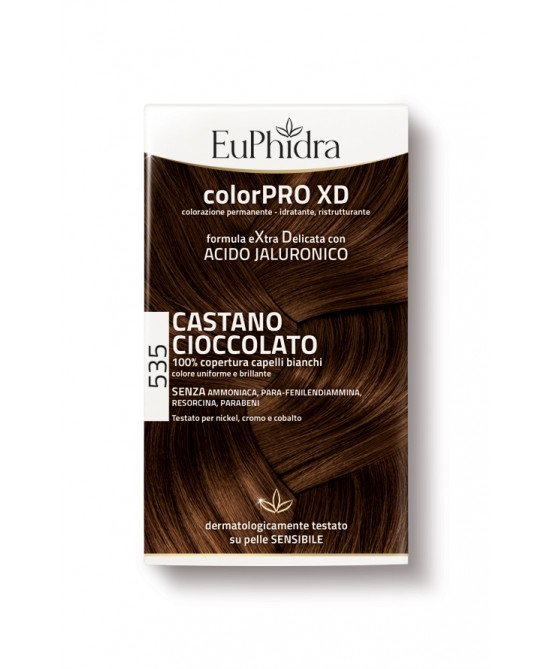 EuPhidra Colorpro XD Tintura Extra Delicata Colore 535 Castano Cioccolato - Farmaciasconti.it