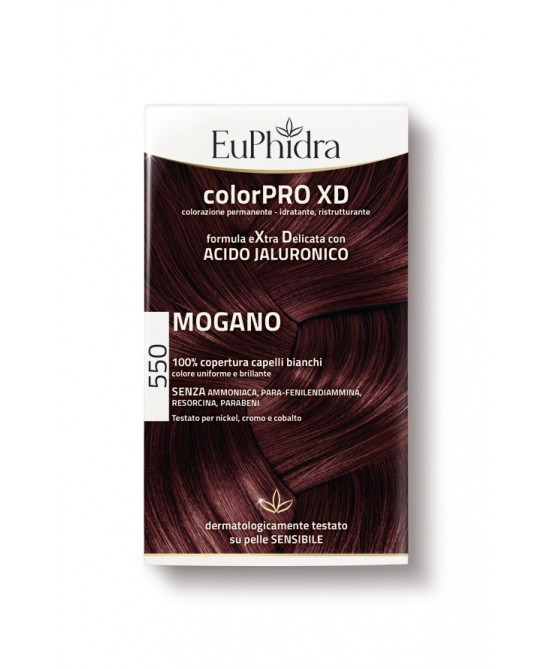 EuPhidra Colorpro XD Tintura Extra Delicata Colore 550 Mogano - Farmaciaempatica.it