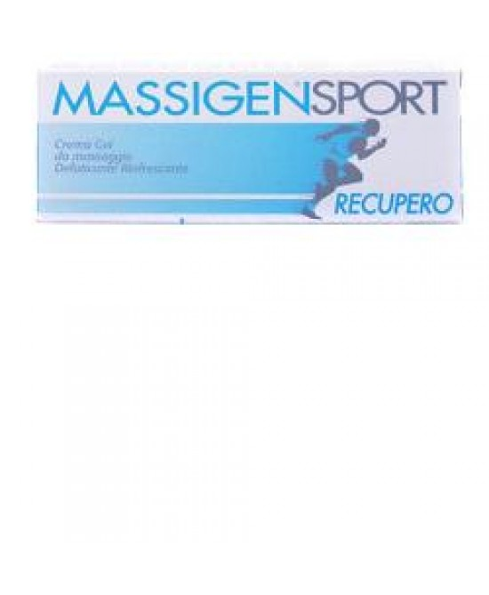 Massigen Crema Recupero 50ml - Farmafamily.it