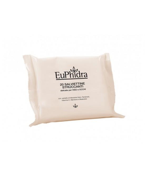 EuPhidra Salviettine Struccanti 20 Pezzi - Farmajoy