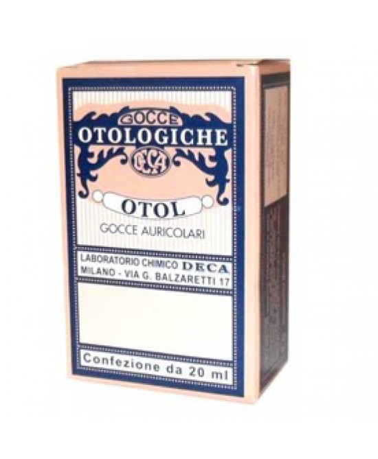 Otol Gocce 20ml - Farmapage.it