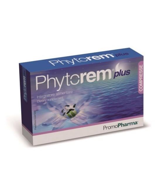 PromoPharma Integratori Alimentari E Nutraceutici / Linea Phytorem  Phytorem Compresse Plus 40 Compresse