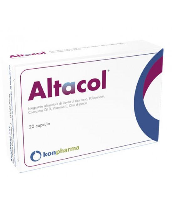 ConFarma Altacol Integratore Alimentare 20 Capsule - Farmaci.me