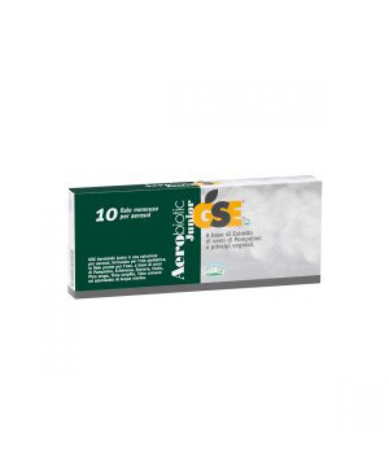 Gse Aerobiotic Junior 10 Fiale Da 5ml - Spacefarma.it