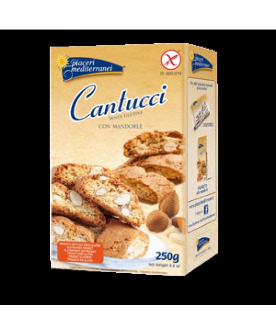 Piaceri Mediterranei Cantucci Con Mandorle Senza Glutine 250 g