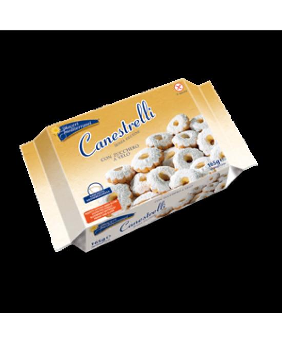 Piaceri Mediterranei Canestrelli Biscotti Senza Glutine 165g - FARMAEMPORIO