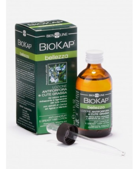 BioKap Lozione Antiforfora e Cute Grassa 50 ml offerta