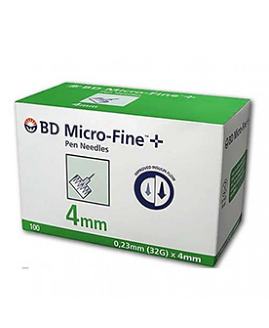 Becton Dickinson Ago Bd Microfine G32 4MM 100 Pezzi - Farmaci.me