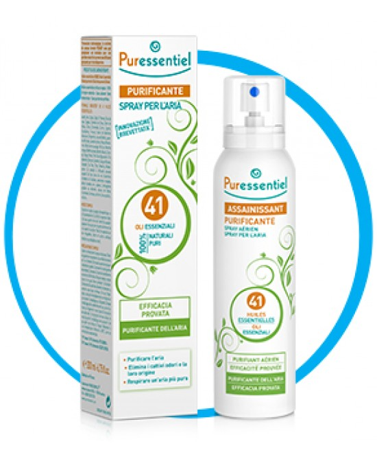 Puressentiel Purificante Spray 41 Olii Essenziali 200ml - Farmafamily.it