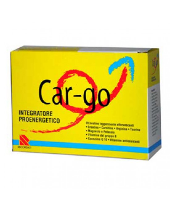CAR-GO 20 BUSTINE DA 4 G - Farmacia 33