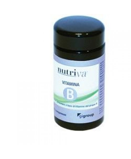 NUTRIVA VITAMINE B 50 COMPRESSE - Farmaciacarpediem.it