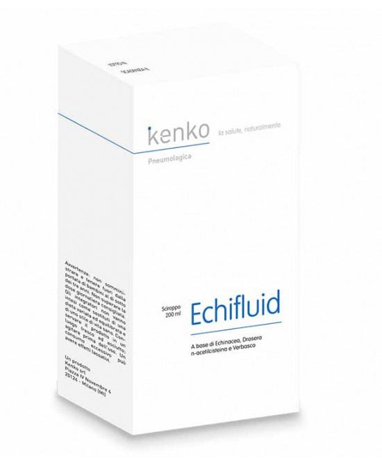EchiFluid Sciroppo Integratore Benessere Vie Respiratorie 200 ml