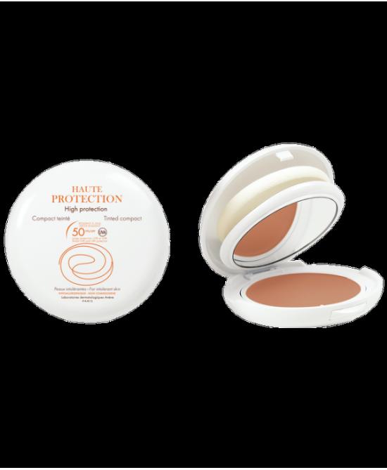 Avène Solare Pelle Intollerante Compatto Spf50 Colore Sabbia 10g