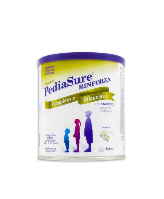 Abbott PediaSure Rinforza Integratore Alimentare Gusto Vaniglia 400g - Farmaunclick.it