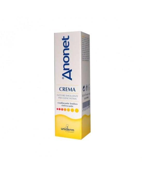 Uniderm Anonet Crema Fattore Emolliente Per Igiene Intima 50ml - Farmaci.me