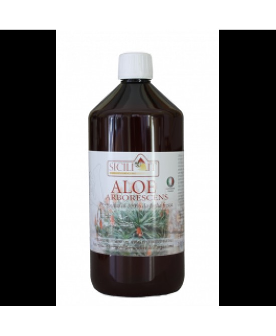 Natur Farma Aloe Arboresc Puro Succo 1000ml - Farmafamily.it