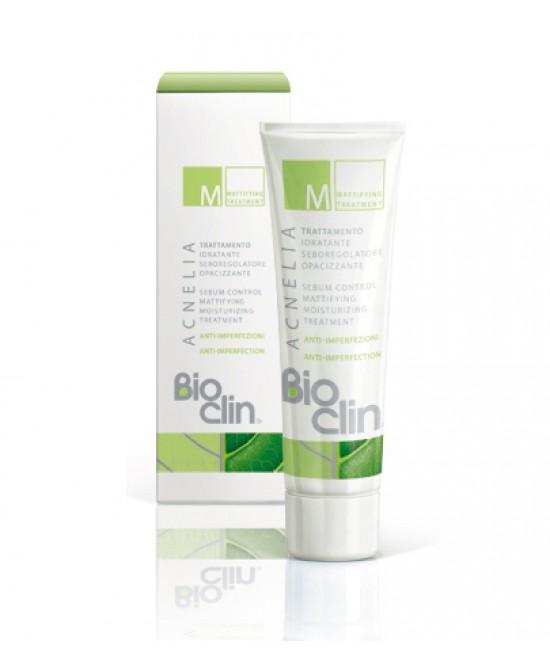 BioClin Acnelia M Trattamento Idratante Seboregolatore Opacizzante 40ml - Parafarmacia Tranchina