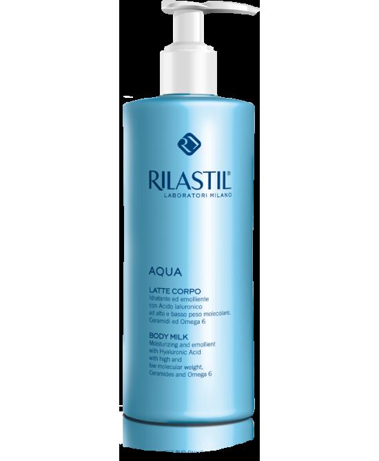 Rilastil Aqua Latte Corpo Idratante 400ml - Zfarmacia