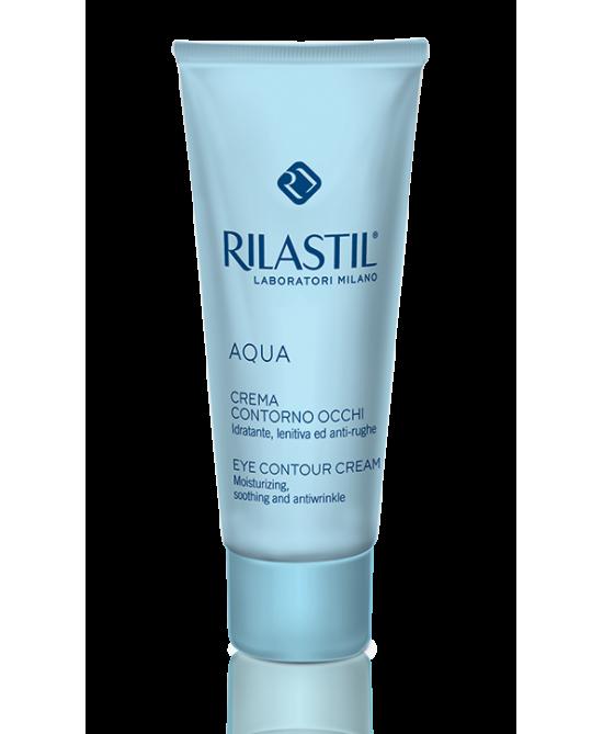 Rilastil Aqua Crema Contorno Occhi Idratante 15 Ml