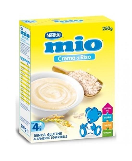Nestlé Mio Crema Di Riso Senza Glutine 250g -