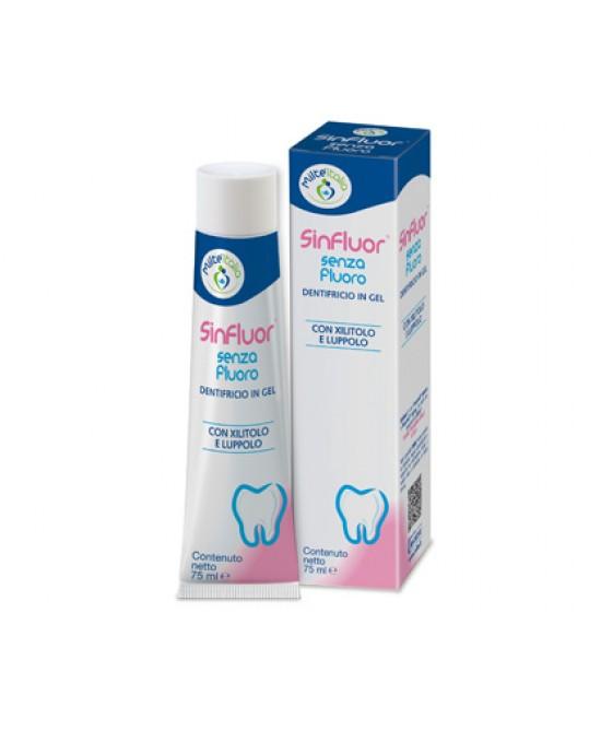 Milte Italia Sinfluor Dentifricio Senza Fluoro 75ml - La farmacia digitale