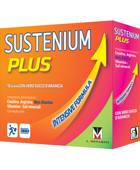 Sustenium Plus Intensive Formula Integratore Alimentare 22 Bustine - Farmafamily.it