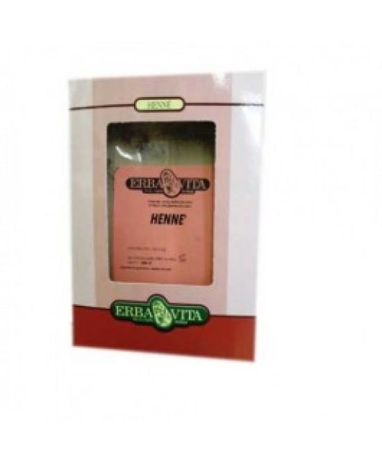 ErbaVita Henne Colore Capelli Rosso Naturale 100g - Farmafamily.it