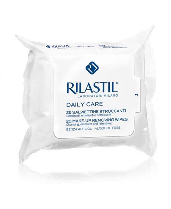 Rilastil Daily Care Salviettine Struccanti Trattamento Viso 25 Salviettine - Farmaci.me