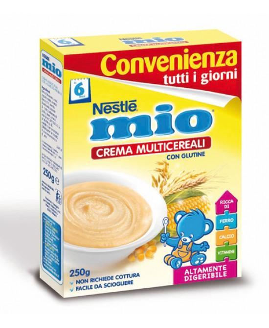 Nestlé Mio Crema Multicereali Per Lo Svezzamento Con Glutine 250g -