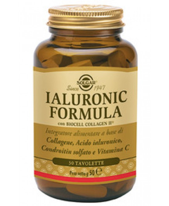 Solgar Ialuronic Formula 30 Tavolette - Farmacia 33