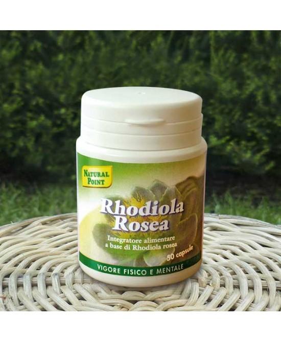 Natural Point Rhodiola Rosea Integratore Alimentare 50 Capsule - Speedyfarma.it