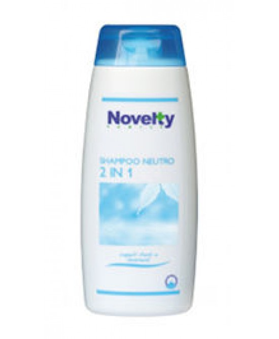 Novelty Family Shampoo Neutro 2In1 Idratante 250 ml