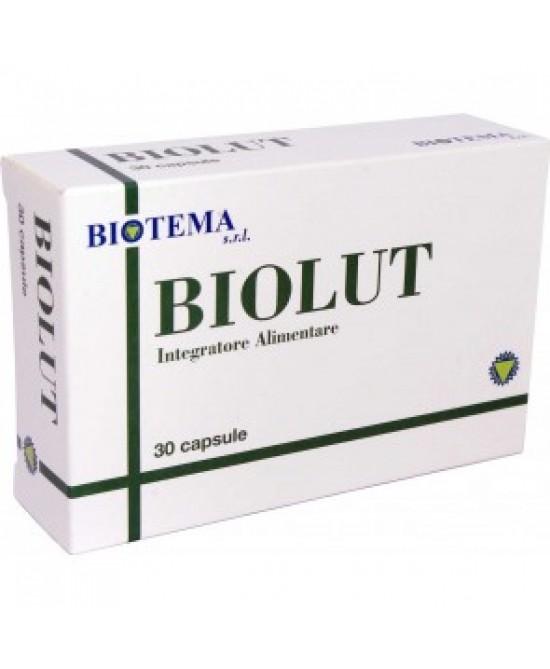 Biotema Biolut Antiossidante - Integratore Occhi 30 Capsule