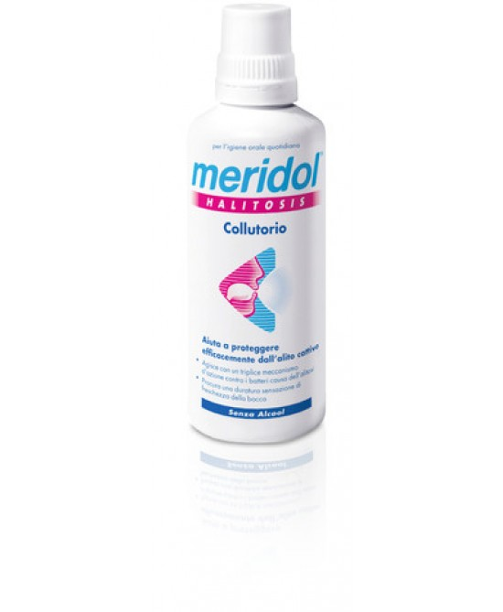 Meridol Halitosis Collutorio 400ml - Farmafamily.it