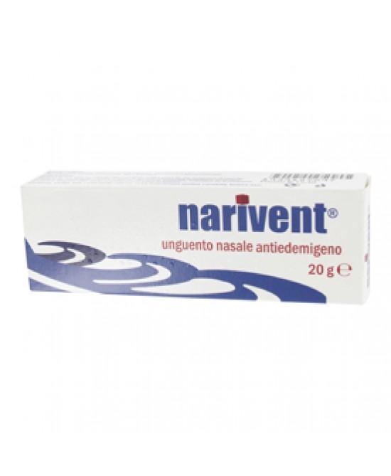 Narivent Unguento Nasale Antiedemigeno 20 g