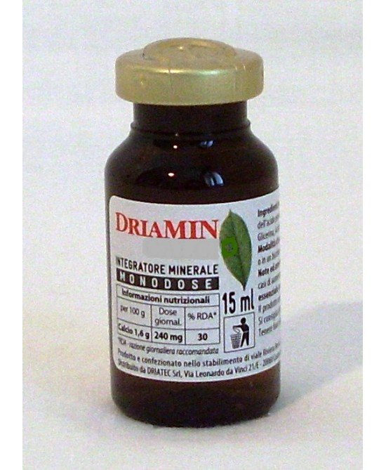 Driatec Driamin Citrus&co Integratore Minerale Monodose Da 15ml - Farmawing